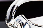 Fine art image of antique glass swan candy dish.
