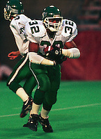 Mike Saunders Saskatchewan Roughriders. Photo F. Scott Grant