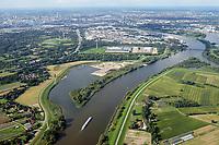 Kreetsand: EUROPA, DEUTSCHLAND, HAMBURG 02.09.2017:   Tiedeelbe Konzept Kreetsand, Hamburg Port Authority (HPA), soll auf der Ostseite der Elbinsel Wilhelmsburg zusaetzlichen Flutraum für die Elbe schaffen. Das Tidevolumen wird durch diese strombauliche Massnahme vergroessert und der Tidehub reduziert. Gleichzeitig ergeben sich neue Moeglichkeiten für eine integrative Planung und Umsetzung verschiedenster Interessen und Belange aus Hochwasserschutz, Hafennutzung, Wasserwirtschaft, Naturschutz und Naherholung.
