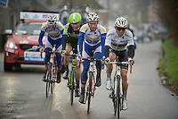 World Champion Michal Kwiatkowski (POL/Ettix-Quickstep) leads the race <br /> <br /> 70th Dwars Door Vlaanderen 2015