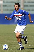 Delvecchio Sampdoria<br /> La Spezia 16/08/2008 Calcio <br /> Siena Sampdoria <br /> Foto Insidefoto