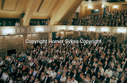 Glyndebourne Festival Opera  Lewes Sussex  UK. The new opera house. 1990s.