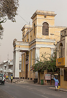 Senegal, Saint Louis.  Catholic Cathedral, built 1828.