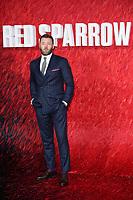 "Joel Edgerton<br /> arriving for the ""Red Sparrow"" premiere at the Vue West End, Leicester Square, London<br /> <br /> <br /> ©Ash Knotek  D3382  19/02/2018"