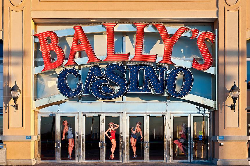 Exterior of Bally's casino, Atlantic City, New Jersey, NJ, USA