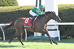April 09, 2021: Raging Bull #8, ridden by Irad Ortiz Jr. draws away from the field to win the $300,000 Maker's Mark Mile (Grade 1) for trainer Chad Brown and owner Peter Brant at Keeneland Race Course in Lexington, Kentucky on April 09, 2021. Jessica Morgan/Eclipse Sportswire/CSM