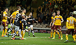 John Souttar heads in to equalise for Dundee Utd