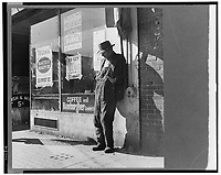 1937 File Photo - skid row, san francisco during the great depression