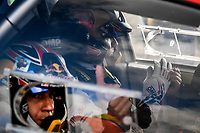 11th October 2020, Alghero, ‎Sardinia, Italy; WRC Rally of Sardinia;  SEBASTIEN OGIER comes home in 3rd place