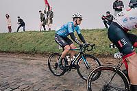 Michael Goolaerts (BEL/Willems Veranda's-Crelan) <br /> <br /> 102nd Ronde van Vlaanderen 2018 (1.UWT)<br /> Antwerpen - Oudenaarde (BEL): 265km