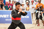 SHUKOR Mohamad Zarish Hakim Shuk of Malaysia in action during the Pencak Silat Men's competition against vs NGUYEN NGOC Toan of Vietnam on Day Eight of the 5th Asian Beach Games 2016 at Bien Dong Park on 01 October 2016, in Danang, Vietnam. Photo by Marcio Machado / Power Sport Images