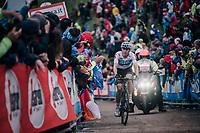 David de la Cruz (ESP/SKY) up the infamous Monte Zoncolan (1735m/11%/10km)<br /> <br /> stage 14 San Vito al Tagliamento – Monte Zoncolan (186 km)<br /> 101th Giro d'Italia 2018