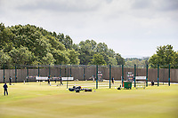 The Indian team take batting practice during a training session ahead of the ICC World Test Championship Final at the Ageas Bowl on 17th June 2021