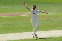 Sam Cook of Essex appeals for a wicket during Essex CCC vs Nottinghamshire CCC, LV Insurance County Championship Group 1 Cricket at The Cloudfm County Ground on 5th June 2021