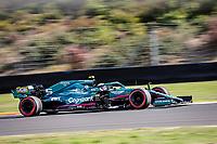 8th October 2021; Formula 1 Turkish Grand Prix 2021 free practise at the Istanbul Park Circuit, Istanbul;  Sebastian Vettel GER, Aston Martin Cognizant F1 Team