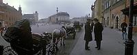 Europe/Pologne/Varsovie: Vieille ville - Esplanade du Chat Royal