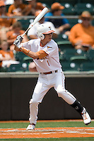 Designated Hitter Cohl Wala #1 of the Texas Longhorns at bat against the Oklahoma Sooners in NCAA Big XII baseball on May 1, 2011 at Disch Falk Field in Austin, Texas. (Photo by Andrew Woolley / Four Seam Images)