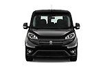 Car photography straight front view of a 2018 Ram Promaster City SLT Wagon 5 Door Mini Van