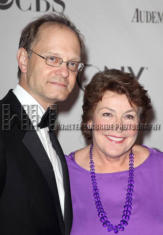 David Hyde Pierce & Helen Reddy<br /> attending The 65th Annual Tony Awards in New York City.