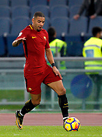 Roma's Bruno Peres in action during the Serie A football match between Roma and Bologna at Rome's Olympic stadium, October 28, 2017.<br /> UPDATE IMAGES PRESS/Riccardo De Luca