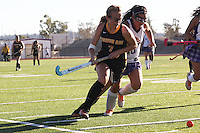 September 24, 2014.  Santana High School, Santee.  Mission Bay High Varsity and Junior Varsity Girls Field Hockey teams play Santana High School teams.  MBHS Varsity lost 2-1 but MBHS Junior Varsity won 2-1.