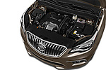 Car Stock 2018 Buick Envision Premium-II-AWD 5 Door SUV Engine  high angle detail view
