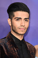 """Mena Massoud<br /> arriving for the """"Aladdin"""" premiere at the Odeon Luxe, Leicester Square, London<br /> <br /> ©Ash Knotek  D3500  09/05/2019"""