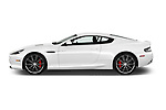 Car driver side profile view of a 2016 Astonmartin DB9 Base 2 Door Coupe