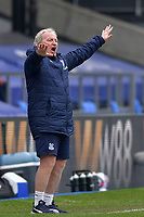 Ray Lewington assistant Manager of Crystal Palace gestures during the Premier League behind closed doors match between Crystal Palace and Fulham at Selhurst Park, London, England on 28 February 2021. Photo by Vince Mignott / PRiME Media Images.