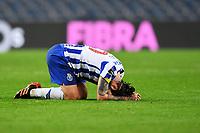 13th February 2021; Dragao Stadium, Porto, Portugal; Portuguese Championship Football, FC Porto versus Boa Vista; Sérgio Oliveira of FC Porto frustrated after the match
