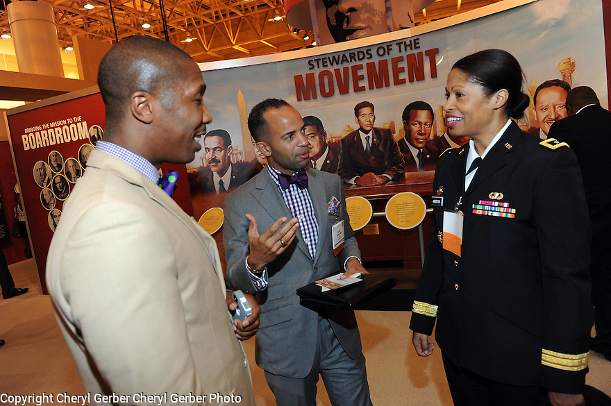 The US Army shows its presence at the The National Urban League convention in New Orleans, Thurs., July 26, 2012. .(Cheryl Gerber/AP Images for US Army).