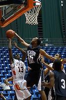 SAN ANTONIO, TX - DECEMBER 11, 2005: The Jackson State University Tigers vs. The University of Texas at San Antonio Roadrunners Men's Basketball at the UTSA Convocation Center. (Photo by Jeff Huehn)