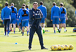 St Johnstone Training….26.08.16<br />Manager Tommy Wright pictured during training this morning at McDiarmid Park ahead of tomorrow's trip to Inverness<br />Picture by Graeme Hart.<br />Copyright Perthshire Picture Agency<br />Tel: 01738 623350  Mobile: 07990 594431