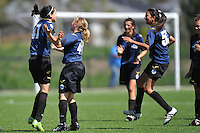 MELBOURNE, AUSTRALIA - Dec 20: Round 7 of the Victorian Champions League between Central City FC and Rivers FC at Epping Soccer Stadium on 20 December 2009, Australia. Photo Sydney Low www.syd-low.com