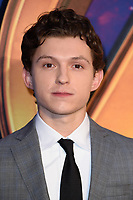"Tom Holland<br /> arriving for the ""Avengers: Infinity War"" fan event at the London Television Studios, London<br /> <br /> ©Ash Knotek  D3393  08/04/2018"