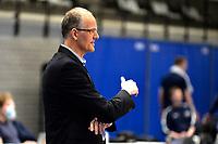 27-03-2021: Volleybal: Amysoft Lycurgus v Draisma Dynamo: Groningen Dynamo coach Rebad Strikwerda