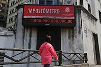 23.08.2018 - Impostômetro atinge 1,5 trilhão em SP