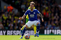 28th August 2021; Carrow Road, Norwich, Norfolk, England; Premier League football, Norwich versus Leicester; James Maddison of Leicester City