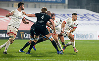 Monday 9th November 2020 | Ulster Rugby vs Glasgow Warriors<br /> <br /> Ian Madigan during the Guinness PRO14 Round 5 match between Ulster Rugby and Glasgow Warriors at Kingspan Stadium in Belfast, Northern Ireland. Photo by John Dickson / Dicksondigital