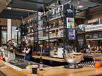 ehemaliges Straßenbahndepot De Hallen,  Hallen Kwartier, Amsterdam, Provinz Nordholland, Niederlande<br /> former tram depot De Hallen,  Hallen Kwartier, Amsterdam, Province North Holland, Netherlands