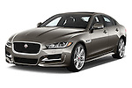 2018 Jaguar XE 4dr-Sdn-20d-R-Sport-RWD 4 Door Sedan Angular Front stock photos of front three quarter view