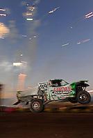 Nov. 5, 2011; Las Vegas, NV USA; LOORRS pro 2 unlimited driver Robby Woods during round 13 at the Las Vegas Motor Speedway. Mandatory Credit: Mark J. Rebilas-