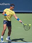 August  18, 2017:  Rafael Nadal (ESP) defeated Albert Ramos-Vinolas (ESP) 7-6, 6-2, at the Western & Southern Open being played at Lindner Family Tennis Center in Mason, Ohio. ©Leslie Billman/Tennisclix/CSM
