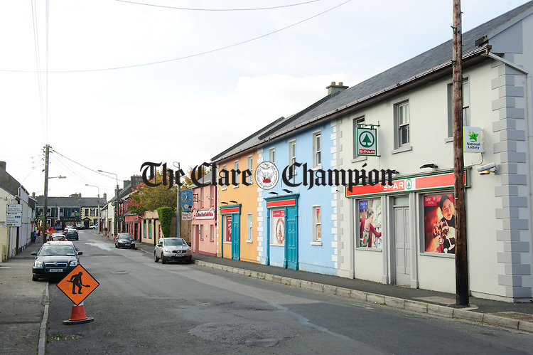 A general view of Newmarket On Fergus. Photograph by John Kelly.