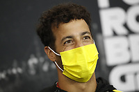 27th August 2020, Spa Francorhamps, Belgium, F1  Grand Prix of Belgium Motorsports: FIA Formula One World Championship 2020, Grand Prix of Belgium, 3 Daniel Ricciardo AUS, Renault DP World F1 Team