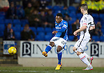 St Johnstone v Inverness Caley Thistle…09.03.16  SPFL McDiarmid Park, Perth<br />Darnell Fisher shoots over the bar<br />Picture by Graeme Hart.<br />Copyright Perthshire Picture Agency<br />Tel: 01738 623350  Mobile: 07990 594431