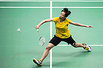 Cheung Ngan Yi of Hong Kong competes against Pusarla V. Sindhu of India during their Women's Singles Semi-Final of YONEX-SUNRISE Hong Kong Open Badminton Championships 2016 at the Hong Kong Coliseum on 26 November 2016 in Hong Kong, China. Photo by Marcio Rodrigo Machado / Power Sport Images
