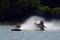 Frame 14: 40-M rides up the rooster tail of 20-M    (Outboard Hydroplane)