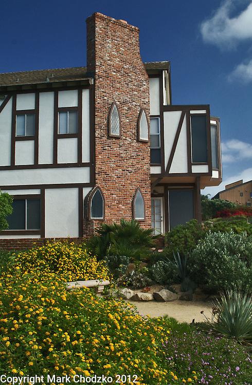 San Diego beach house.