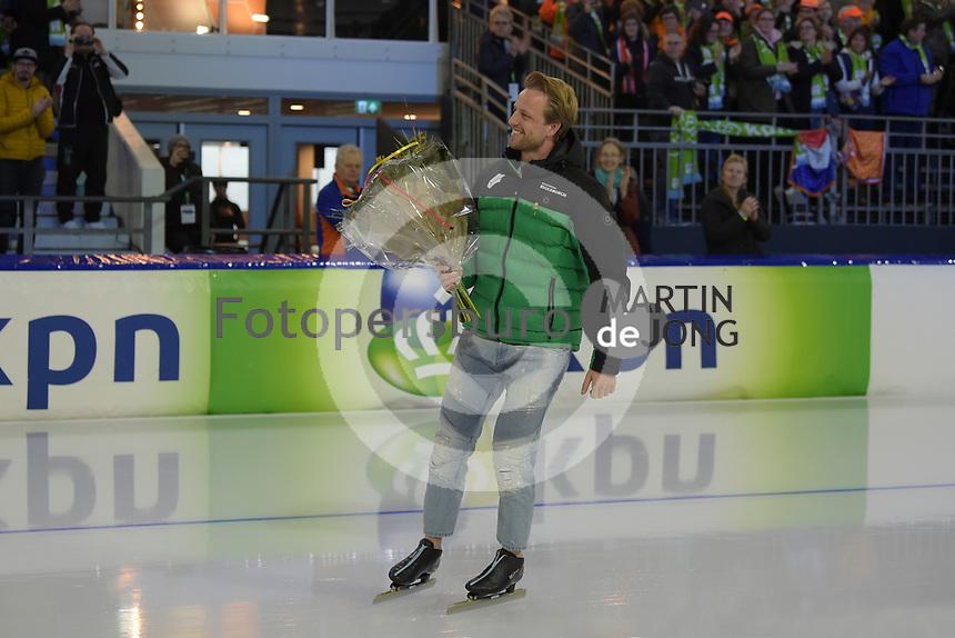 SPEEDSKATING: HEERENVEEN: 11-01-2020, IJsstadion Thialf, European Championship distances, afscheid Michel Mulder, ©foto Martin de Jong